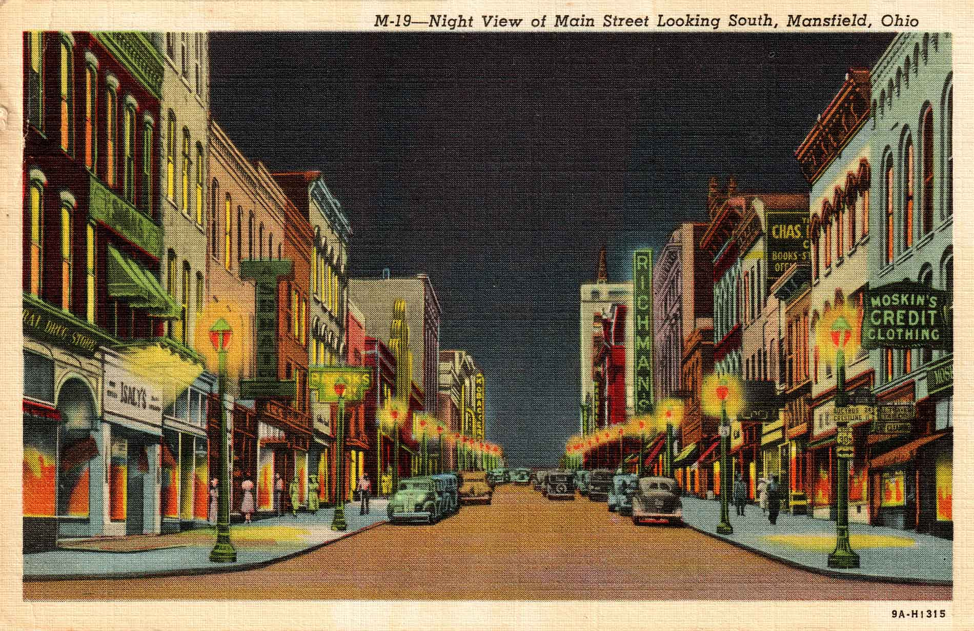 fig. 10 _ View of Main Street in the 1940s